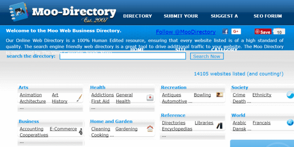 Promote Your Business with Moo Directory
