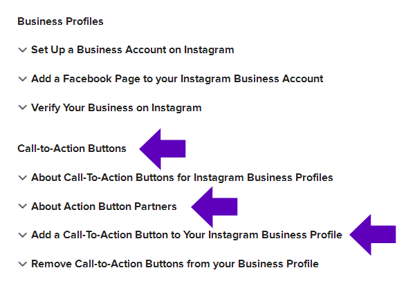 Setting Up Appointments/Booking on Instagram through Call-to-Action Buttons