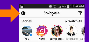 How to add a Video to your Instagram Story