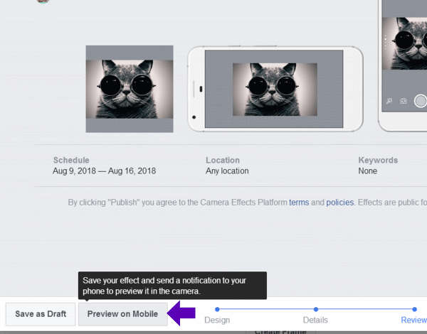 Facebook Custom Frames How To