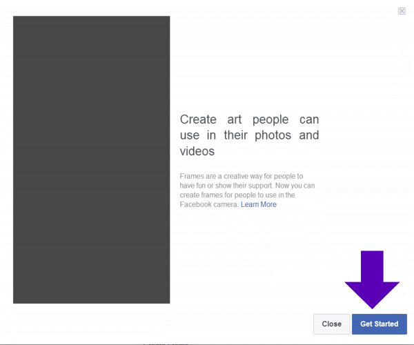 Create Custom Facebook Frames