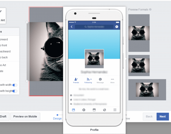 Create Your Own Facebook Frames