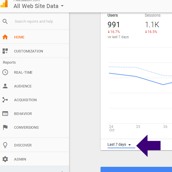 Google Analytics Information