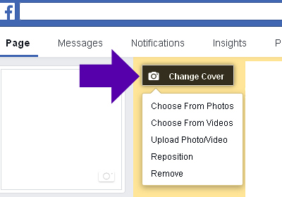 Instructions For Making Your Facebook Cover Clickable