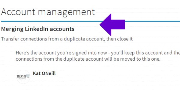 How to Delete a Duplicate Linkedin Account