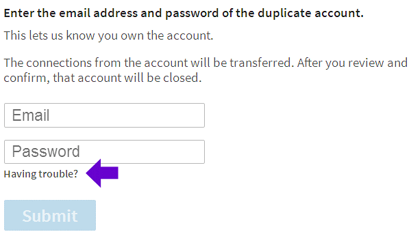 How to Merge Duplicate Linkedin Accounts