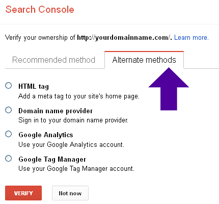 How To Set Up Google Search Console And Verify Ownership Of Your Site Or App
