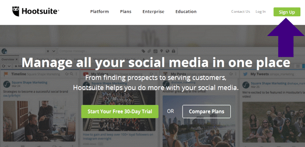 Managing all your Soical Media with Hootsuite