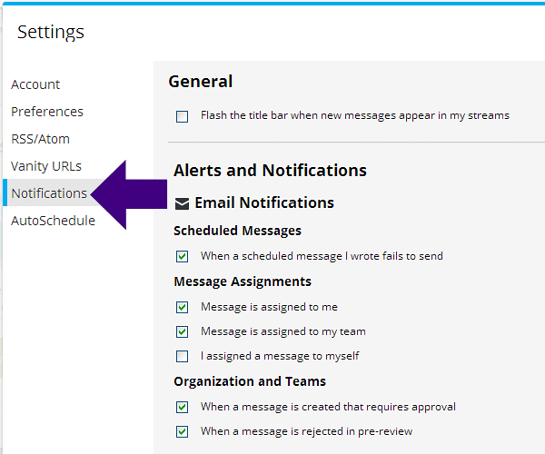 Setting Up Notifications with Hootsuite
