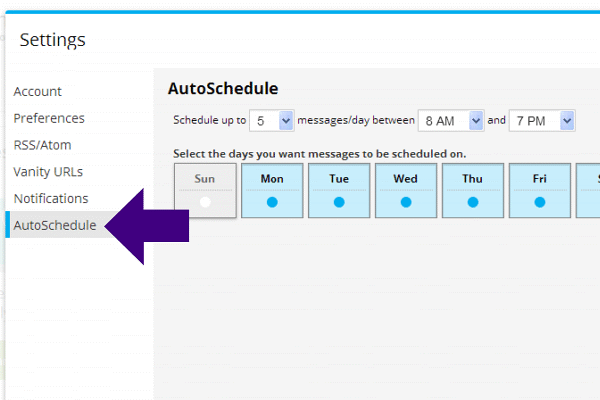 How to Auto Schedule with Hootsuite