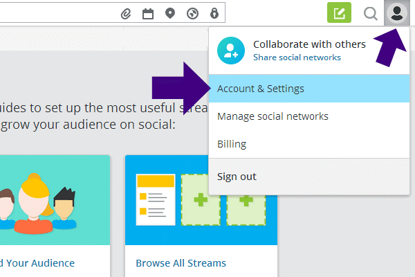 Your Hootsuite Account