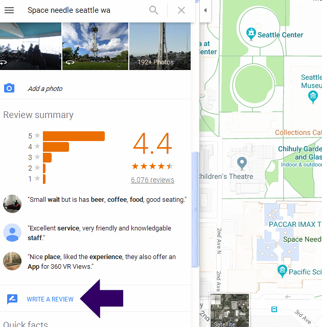 How to Write Online Reviews on Google Maps