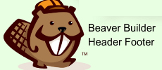 Beaver Builder Header Footer