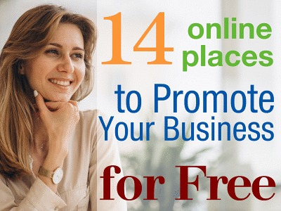 14 Online Places to Promote Your Business for Free