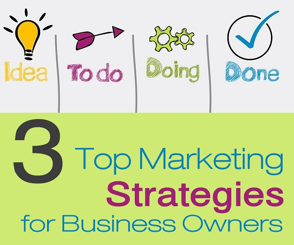 3 Top Marketing Strategies for Business Owners