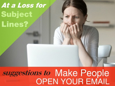 Email Subject Line Suggestions to Make People Open Your Email
