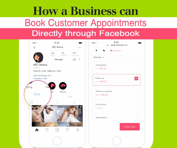 How a Business Can Book Customer Appointments Directly Through Facebook