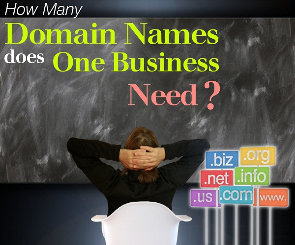 How Many Domain Names Does One Business Need?