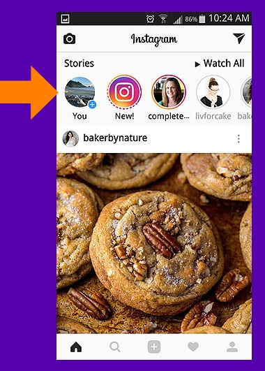 How-To Basics for Posting Instagram Stories