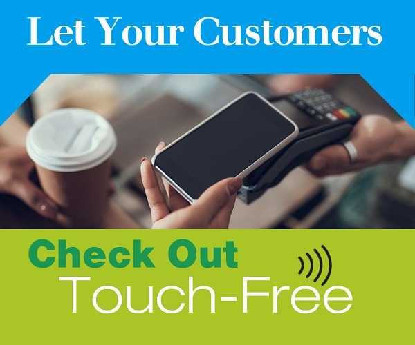 Let Your Customers Check Out Touch-Free