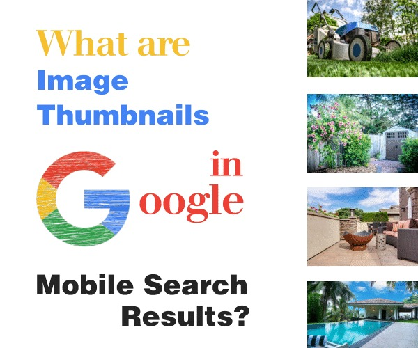 What are Image Thumbnails in Google Mobile Search Results?