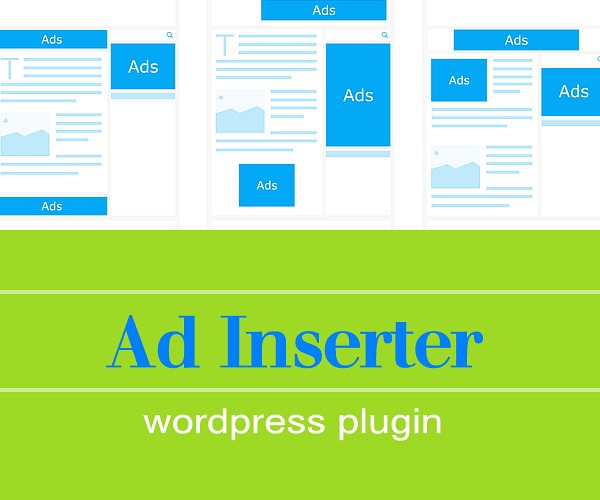 WordPress Plugin:  Ad Inserter