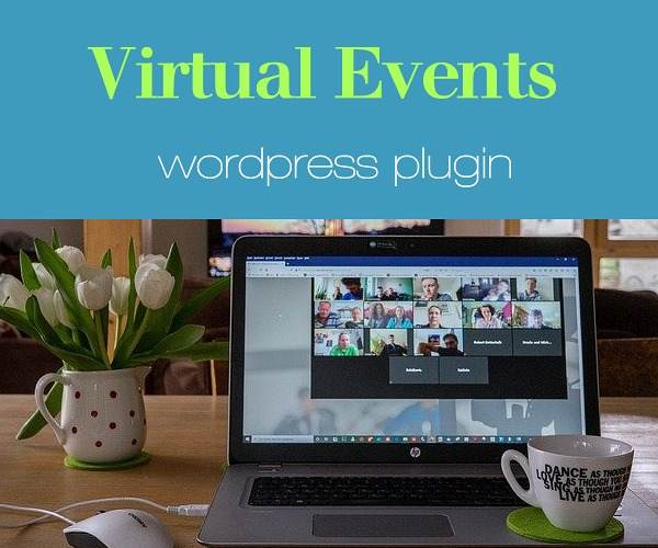 WordPress Plugin:  Virtual Events