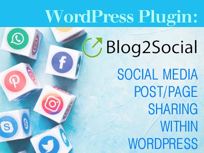 WordPress Plugin: Blog2Social