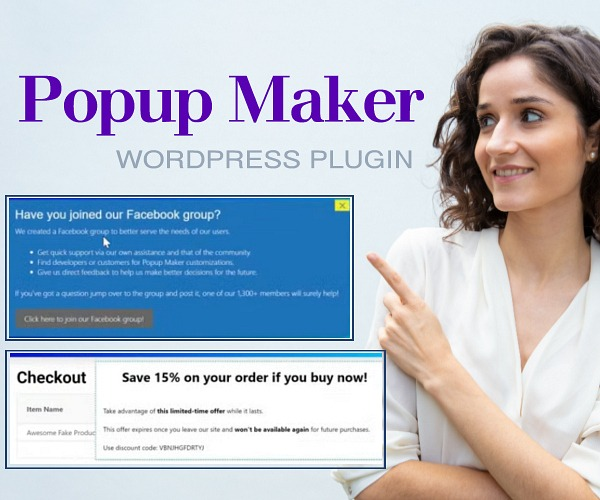 WordPress Plugin: Popup Maker