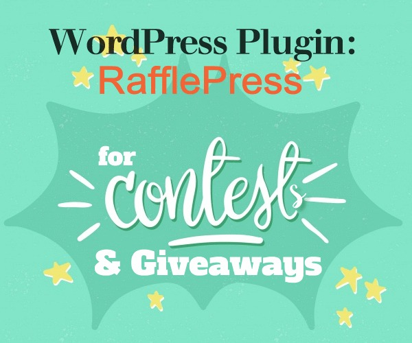 Wordpress Plugin: RafflePress