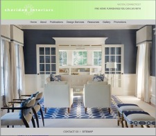 Elegant Interior Design Extends Online