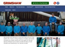 Hosting Connecticut Launches New Website for Grimshaw Tree Service